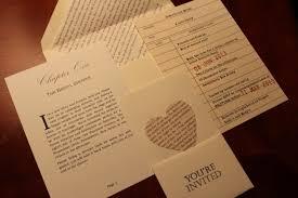 bridal shower invitations bridal shower invitations book theme