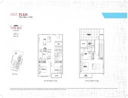 row house plans row house 3 bed ph sant ritz