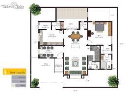 Floor Plans For Bungalows Krc Shantiniketan Luxury Individual Bungalows Floorplan Luxury