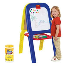 magnetic easel for toddlers amazon com crayola 3 in 1 kids double drawing easel with magnetic