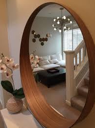 Ikea Bathroom Mirrors Uk Bathroom Mirrors Ikea Diy Wood Framed Mirror Ikea Minde Hack For