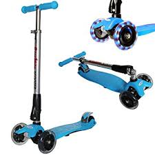 razor kick scooter light up wheels amazon com rimable adjustable and foldable maxi scooter with led