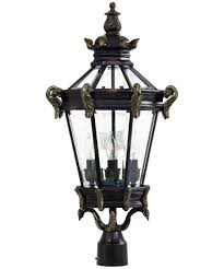 outdoor light post fixtures minka lavery 8936 stratford hall 14 inch wide 4 light outdoor post