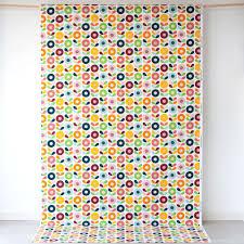 kinnamark cirkelblomma multi scandinavian fabric hus u0026 hem