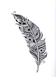 feather coloring page contegri com