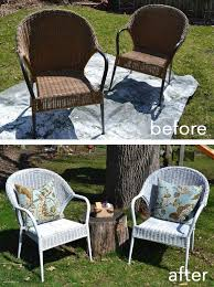 Best Way To Paint Metal Patio Furniture Best 25 Outdoor Spray Paint Ideas On Pinterest