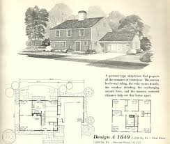 100 colonial farmhouse plans 1382 best floor plans images