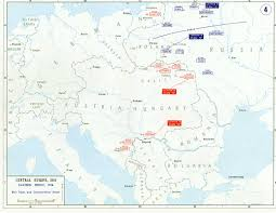 Ww1 Map Ww1 Serbian Front 1914