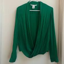 86 off diane von furstenberg tops gorgeous emerald green dvf