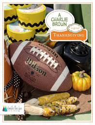 thanksgiving group activities party plans charlie brown thanksgiving party plan