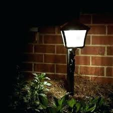 top rated solar powered landscape lights solar powered l post lights tiidal co