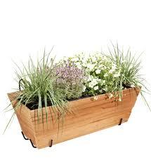 blumenkasten holz mit halterung im greenbop shop kaufen - Blumenkasten Holz Balkon