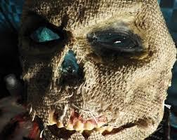 Scarecrow Mask Scarecrow Mask Etsy