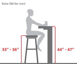 Normal Chair Dimensions Bar Stools Buying Guide Hayneedle Com