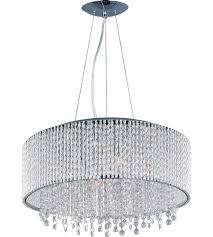 Spiral Pendant Ceiling Light Et2 E23137 10pc Spiral 10 Light 23 Inch Polished Chrome Pendant