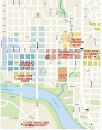 Austin Zoning Map by Austin Downtown Map Downtown Austin Map Texas Usa