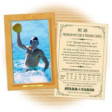 custom water polo cards vintage 11 starr cards
