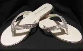wedding flip flops bridal flip flops comfortable wedding shoes