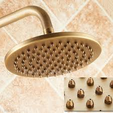 Outdoor Shower Fixtures Copper - brushed brass wall mount thermostatic exposed outdoor shower sets
