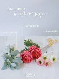 how to make a wristlet corsage how to diy a wrist corsage for your wedding day