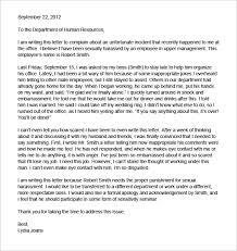 Formal Complaint Letter Against An Employee bunch ideas of letter of plaint to employer unfair treatment