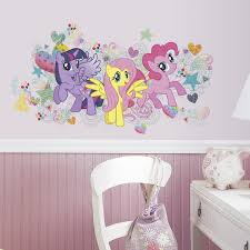 twenty new wall stickers under 20 roommates blog my little pony wall stickers for girls bedrooms