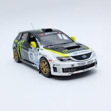subaru rally car j collection jc275 1 43 subaru impreza wrx sti 43 rally america 2008