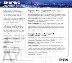 volvo group global jobs in volvo penta vacancies in volvo penta opportunities at