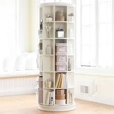 Wooden Bedside Bookcase Shelving Display Revolving Bookcase Pbteen
