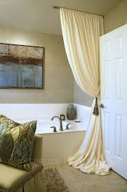 Bathtub Curtains Articles With Bathtub Window Curtains Tag Fascinating Bathtub