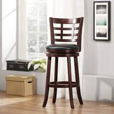 Wooden Bar Stool With Back Bar U0026 Counter Stools For Less Overstock Com