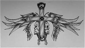 skull cross wings by artisticskittles17 on deviantart