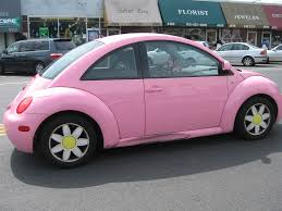 volkswagen buggy pink complete with daisy wheels and love bug plates with flower u2026 flickr