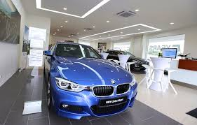 bmw dealership inside auto bavaria opens interim bmw showroom in cheras