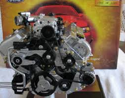 used mustang cobra engine for sale ebay find of the day 1 4 scale model of 4 6 liter cobra engine