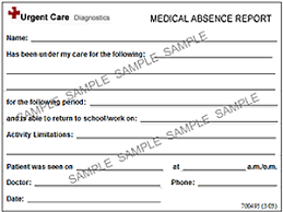 medical absence reports doctors notes for free doctor note