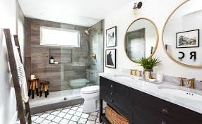 Rustic Farmhouse Bathroom - blog post view lucido agency