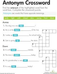 free worksheets antonyms worksheets for kindergarten free math