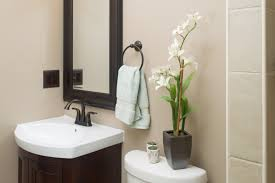 half decor charming idea design half bathroom wall decorating