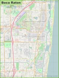 Boca Raton Florida Map by Large Detailed Map Of Boca Raton