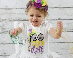 mardi gras baby clothes mardi gras bodysuit mardi gras baby king cake bodysuit