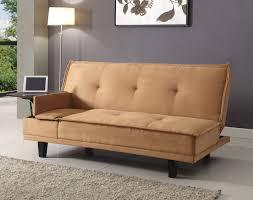 brown microfiber sofa bed light brown microfiber sofa bed futon w table caravana furniture
