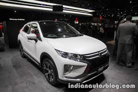 mitsubishi uae mitsubishi eclipse cross showcased at the 2017 dubai motor show
