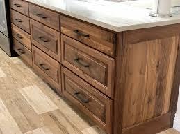 hardware for walnut cabinets custom walnut kitchen millers haus furniture