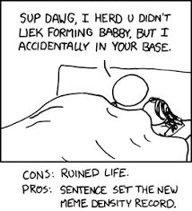 Base Meme - xkcd density