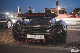 police mclaren mclaren p1 xp carbon series 24 august 2016 autogespot