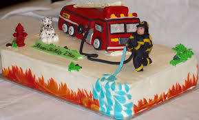firetruck cakes truck cakes decoration ideas birthday cakes
