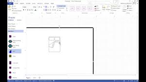 Design A Floorplan Making A Floorplan In Visio Youtube