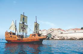 galleon tirena perfect stage for event or dubrovnik discovery