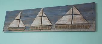 sailboat wall nautical wall decor sign